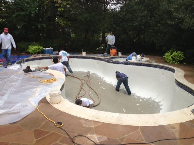 Pool builders charlottepoolplastering for Top pool builders